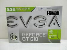 EVGA GeForce GT 610 DirectX 12 02G-P3-2619-KR 2GB 64-Bit Video Card