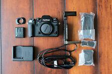 Fujifilm X Series X-T1 16.3 MP Digital SLR Camera - Black (Body Only)