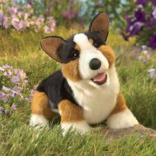 Corgi Hand Puppet with Moveable Mouth by Folkmanis - Boys & Girls, Ages 3 and Up