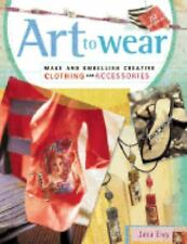 Art to Wear, History & Criticism, General, Fashion, Jewelry, Sewing, Crafts, All