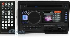 """Power Acoustik PD-342 Double DIN Bluetooth DVD Car Stereo Receiver w/3.4"""" Screen"""