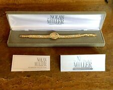 "NOLAN MILLER GLAMOUR COLLECTION ""CRUISE SHIP BRACELET WATCH"" VERY RARE!!!"