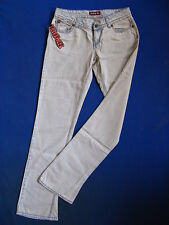 Killah by Miss Sixty Blue Jeans W24/L32 low waist slim fit flare leg used wash