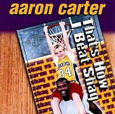 AARON CARTER - That's How I Beat Shaq / One for the Summer - CD ** Brand New **