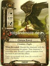 Lord of the Rings LCG  - 1x Craven Eagle  #074 - Encounter at Amon Din