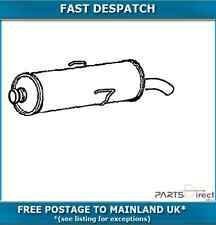 PG210M 4323 KLARIUS END SILENCER FOR PEUGEOT 205 1.9 1987-1989