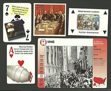 WWII Atom Atomic Bomb Fab Card Collection Nuclear disarmament World Leaders