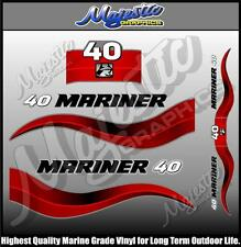 MARINER - 40 hp - DECAL SET - OUTBOARD  DECALS