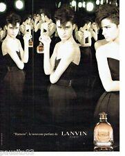 PUBLICITE ADVERTISING 116  2006   le parfum femme Rumeur par Lanvin