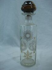 VIN 1973 Four Roses Whiskey Decanter Style Bottle Jim Beam Tax Tag Collectable