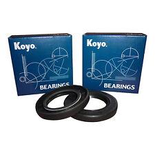GSX1300 BK B KING 08 - 13 KOYO WHEEL BEARINGS FRONT COMPLETE OEM SPEC