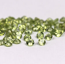 AAA Quality 25 Piece Natural Peridot 4x4 MM Round Cut Loose Gemstone