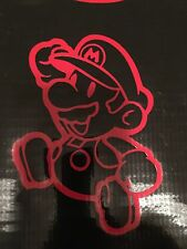 MARIO SUPER MARIO DECAL STICKER VINYL WALL LAPTOP CAR 5""