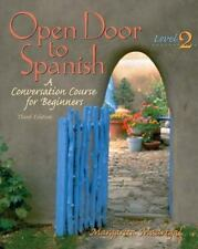 Open Door to Spanish: A Conversation Course for Beginners, Level 2,-ExLibrary