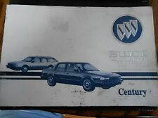 94 Buick Century Owners manual 1994