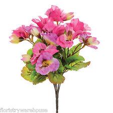 Flores Artificiales De Seda Pensamiento Ramo Pensamientos Rosa