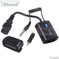 Wireless Radio Flash Trigger f 3.5/6.35mm SYNC JACK Studio Flash Light/Monolight