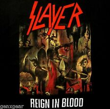 SLAYER cd cvr REIGN IN BLOOD Official SHIRT L@@K MED new
