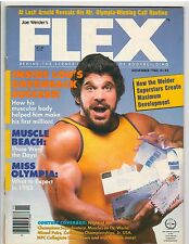 FLEX bodybuilding muscle magazine/Incredible Hulk LOU FERRIGNO 11-83
