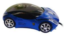 Nuevo Azul Y Rojo Coche Forma USB 2.0 3D óptico Mouse Ratones Para Ordenador
