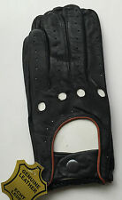 Genuine Leather Driving Gloves Brand new High quality Refined Leather