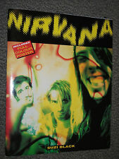 Nirvana by Suzi Black (Mixed media product, 1992) Punk Power Trio - with poster