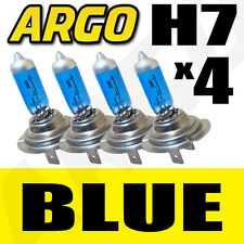 4 X H7 XENON BLUE 55W BULBS TWIN PACK SET 12V YAMAHA YZF-R1 1000