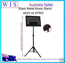 Deluxe Sheet Folding Music Stand Metal Tripod Holder,Adjusting Height 77-150cm