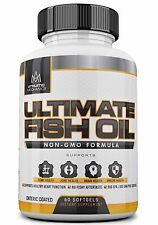 Athletic Mechanics - Ultimate Fish Oil - High Quality Non-GMO, 800 EPA, 600 DHA