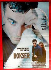 THE BOXER 1997 DANIEL DAY LEWIS EMILY WATSON JIM SHERIDAN UNIQUE  MOVIE POSTER