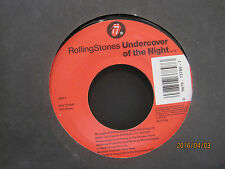 """Rolling Stones """"Sexdrive"""" b/w """"Undercover of the Night"""" LIVE - 45rpm NM Store"""
