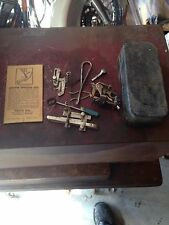 OLD ORIGINAL VTG SEWING MACHINE ATTACHMENT GRoup LOT  Antique Tools