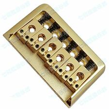 Hardtail Gold Top Load Electric Guitar Fixed Bridge with Wrench Screw