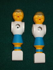 2 Two Replacement Foosball Fussball Men BLUE or Color Choice w/ FREE Shipping