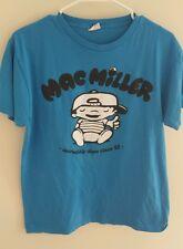Mac Miller Thumbs Up Incredibly Dope Blue Shirt Men's Large