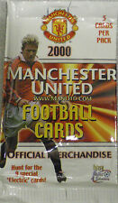 11 x manchester united football cartes-fans selection 2000 futera trading cards