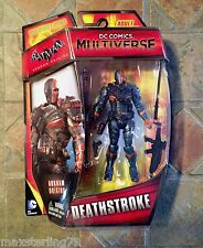 DC Comics Mulltiverse DEATHSTROKE figure 2015 Arkham Origins Green Arrow