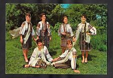 Posted 1974 - View of Ladies in National Costumes South Moldova, Romania