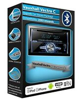 Vauxhall Vectra C CD MP3 player Pioneer FH-X700BT Bluetooth Handsfree car stereo