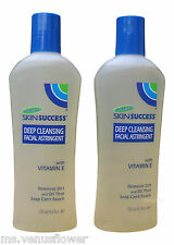 2 x Palmer's Skin Success Deep Cleansing Facial Astringent 250ml