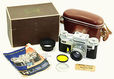 KIEV 4 (t.3)  Russian 35mm Camera USSR 1960 Boxed Contax copy w/ Jupiter-8M Rare