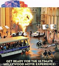 Universal Studio Guide Book Tram Tour Hollywood Stars NEW Brochure Transformers