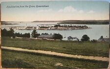 Irish Postcard HAULBOWLINE Island Cobh Queenstown County Cork Ireland Mumps 1919