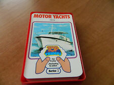 VINTAGE DUBREQ TOP TRUMPS CARD GAME- MOTOR YACHTS (SERIES 2)