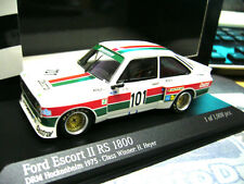 FORD ESCORT MKII rs1800 tg. 5 DRM Heyer Zakspeed #101 CASTROL Minichamps RAR 1:43