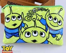 Toy Story  Alien Green men Pencil Case Pen Pouch Bag Stationary Organizer BUZZ