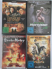 4x diverse Action - Drunken Monkey - Treasure Hunter - Hornisse - Fighting Beat