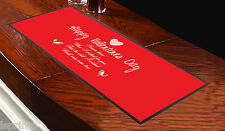 Runner rosso da tavolo San Valentino My Wish Came True, da bar, idea regalo