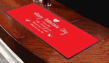 Runner rosso da tavolo San Valentino My Wish Came True, da bar, idea regalo