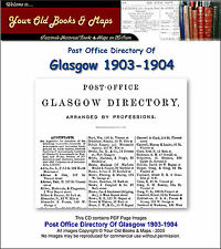 Glasgow Post Office Annual Directory 1903 - 1904 CDROM